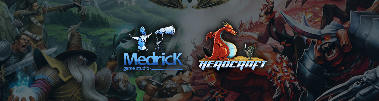 Medrick and HeroCraft began a cooperation
